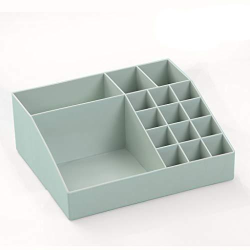 KKY-ENTER Boîte de rangement cosmétique Plastique de bureau domestique Cloison de séparation pour bureau Produits de soin de la peau Boîte de finition pour le maquillage