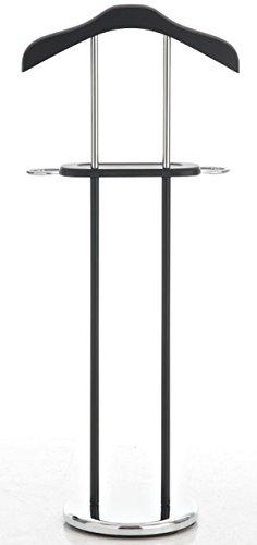 Zeller Present 17106 Valet Pour Salle De Bain Metal Chrome Mdf 100