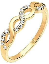 Diamore Damen Ring 585 Gelbgold Diamant 0,18 ct