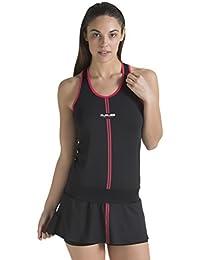 Duruss 0000000190 Vestido Deportivo, Mujer, Negro, M