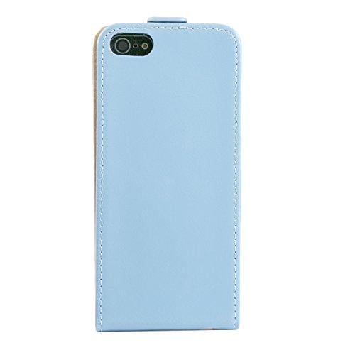 "iProtect Apple iPhone 6 (4,7"") 6s Hülle Flip Case Kunstledertasche Schutzhülle schwarz Flipcase Türkis"