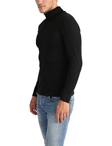 af552c47ed6ff8 Günstig Lower East Herren Slim Fit Rollkragen Shirt
