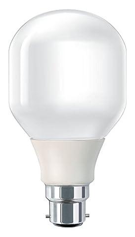 Philips Softone 20W = 86W B22 Bayonet Energy saving bulb 871150066263790 - fluorescent bulbs (Bulb, B22, White, A, Warm white, White) [Energy Class