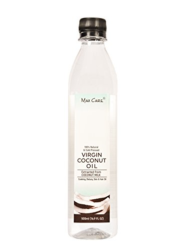 Max Care Virgin Coconut Oil (Cold Pressed) 500Ml