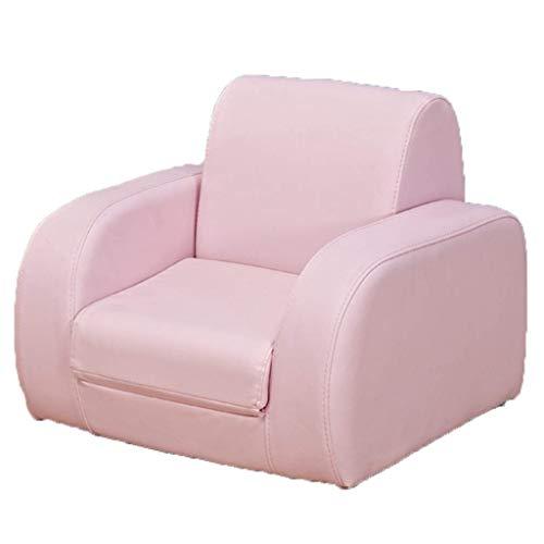LMCLJJ Zeitgenössische Kinder Recliner PU Leder Lounge Möbel für Jungen & Mädchen Halter Kinder Sofa Stuhl PU pflegeleicht Kindersofa ist Nicht einfach zu verformen Junge Mädchen faul Sofa - Leder-zeitgenössische Möbel