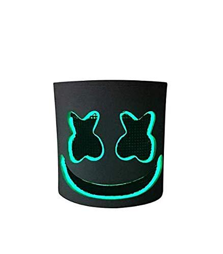 Deadmau5 Kostüm Halloween - Marshmallow-Maske Cosplay Kostüm Helm Vollkopf Latex
