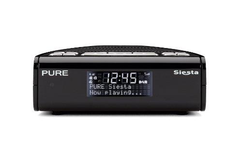 Pure Siesta DAB / FM-Radiowecker Bedside Farbe Schwarz