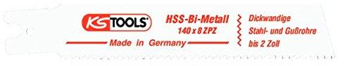 KS TOOLS 129 4482 - SABRE HOJA DE SIERRA HSS BI METAL  L = 140MM