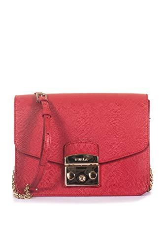 Furla Tasche Metropolis Damen Leder rot - 941915