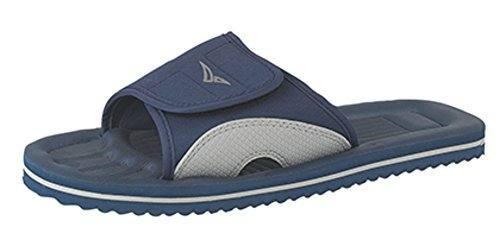 Surfer Beach Flip-Flop, Beach Mule, Sandal In Blue, Size 8 UK