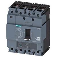Siemens sentron-3va - Interruptor frame 160 55ka 4 polos tm220 32a neutro tornillo