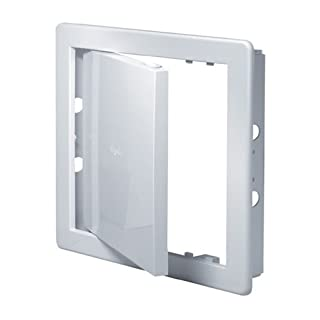 Access Panel 150x150mm (6x6inch) White High Quality ABS Plastic