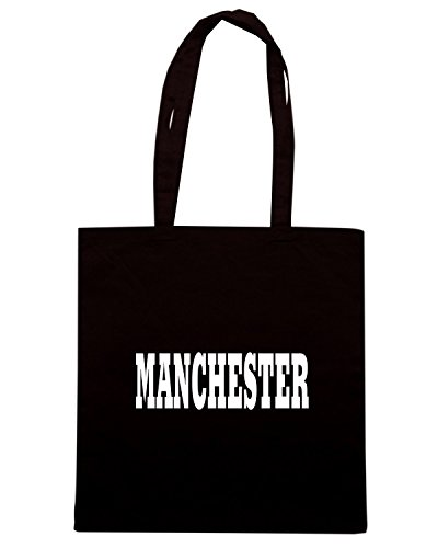 T-Shirtshock - Borsa Shopping WC0702 MANCHESTER Nero