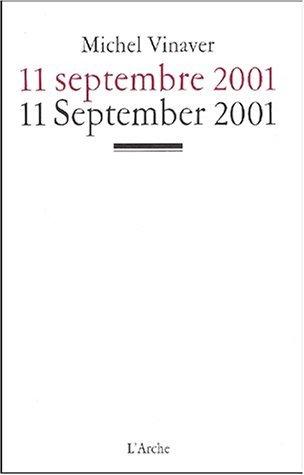 September 11 by Michel Vinaver (2002-01-25)