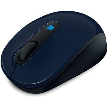 Microsoft Sculpt Mobile Mouse - Ratón (RF inalámbrico, Baterías, 0 - 40 °C, Windows 7 Home Basic, Windows 7 Home Basic x64, Windows 7 Home Premium, Windows 7 Home Premium x64, Oficina, Azul)