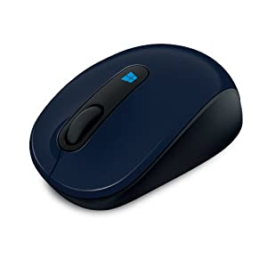 Microsoft Sculpt Mobile Mouse Bluetrack/Bluetrace, Radio Transfer, PC Mouse, PC/Mac, 4 Ways