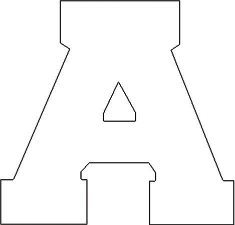 Dritz Stoff Buchstaben zum Aufbügeln, athletic-white (Works Athletic Kleidung)