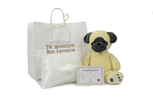 Pug Teddy Bear by The Wonderful Bear Emporium - Pug for sale  Delivered anywhere in UK