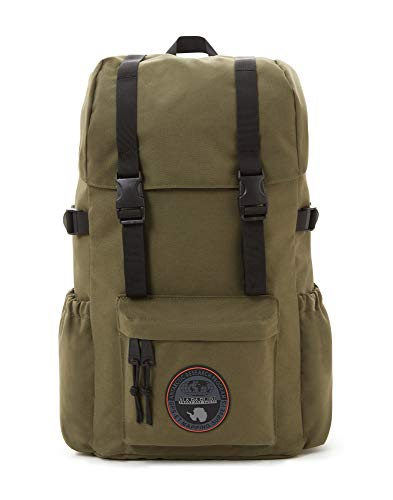 Napapijri HOYAL DAY PACK Zaino Casual, 42 cm, 20 liters, Verde (Green Musk)