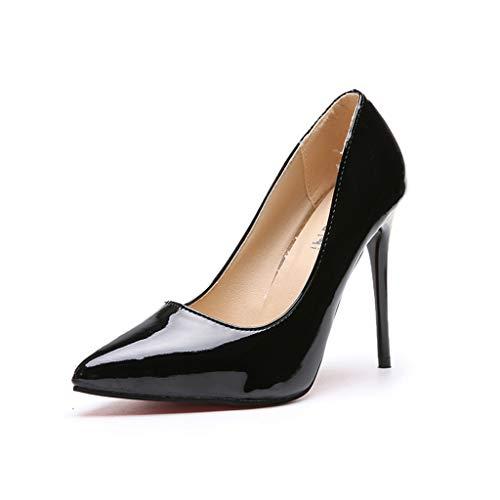 ┃BYEEEt┃ Scarpe col Tacco Donna - High Heels Sexy - Decolte Donna Tacco Alto - Tacchi a Spillo - Scarpe Punta Chiusa Donna Tacco Alto Lavoro Festa Elegante Scarpe de Moda