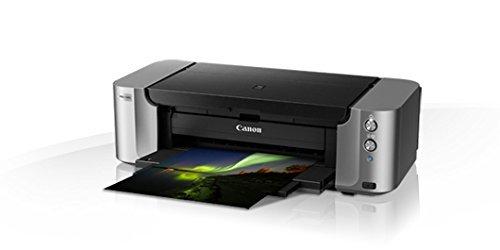 Canon PIXMA Pro-100S Colour Inkjet Printer + Extra Full Set Of Original Canon Inks (Black 900, Grey 492, C 600, M 416, Y 284, LG 835, PC 292, PM 169 Pages)