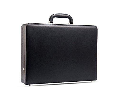 Borsa A Tracolla Deluxe In Pelle Morbida Per Uomo Borsa A Tracolla Grande Per Laptop Per Lo Shopping Attività Allaperto Borsa Da Uomo Nera