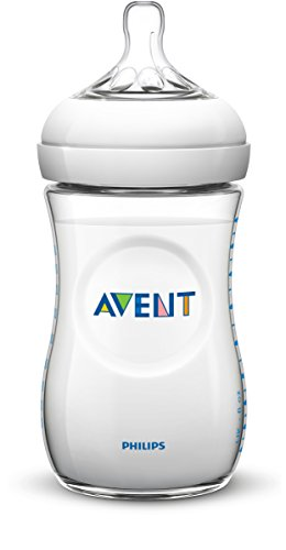 Philips Avent SCF696/17 Biberon Natural Anticoliche per Allattare in Modo Naturale, 330 ml, Trasparente
