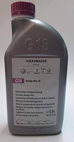 Original Volkswagen G13 Kühlflüssigkeit Kühlmittel Ready Mix J4 VW Audi Seat Skoda 1.5L Fertigmischung G013040M2