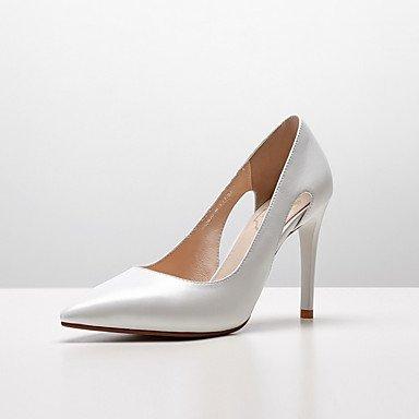 RTRY Donna Tacchi Pompa Di Base Primavera Estate Di Nappa Abbigliamento Casual Stiletto Heel Bianco Nero 2A-2 3/4In US5 / EU35 / UK3 / CN34