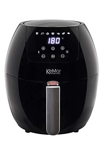 KeMar Kitchenware KHF-350 Heißluftfritteuse   3,5 Liter   Touchdisplay   BPA-frei   Ohne PTFE/PFOA   1.500W