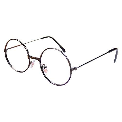 Juleya Baby Runder Gläser Rahmen - Kleinkind Säugling Kinder Brillen Geek/Nerd Retro Reading Eyewear Keine Objektive für Mädchen - Kleinkind Geek Kostüm