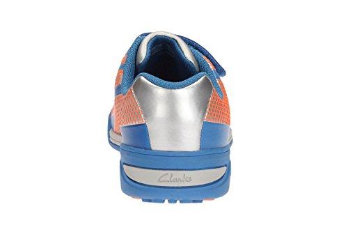 Clarks Premio salto ragazzi formatori Inf in vari colori Blu (blu)