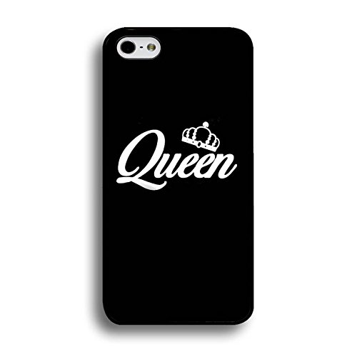 Art King Queen Case for Iphone 6 Plus/6s Plus 5.5 Inch Funny Cool Cartoon Cover Fashion Couples Hard Phone Cases for Iphone 6 Plus/6s Plus 5.5 Inch Color149d