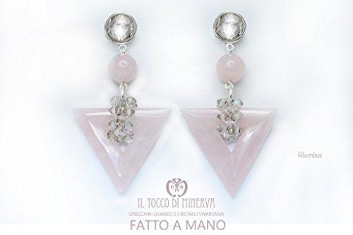 vski Rhombus handgefertigt Made in Italy - Made in Italy- handgemacht - Mädchen Geschenk Mädchen - Geschenke für sie - Weihnachten ()