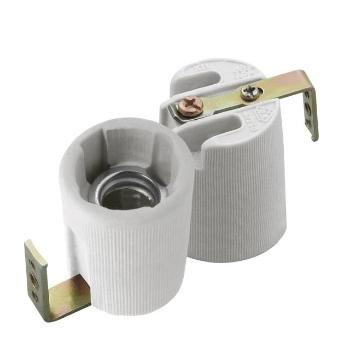 E14 Keramik Fassung 230V mit Bügel HLDR-E14-F
