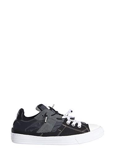 Maison Margiela Luxury Fashion Uomo S37WS0480P2422H7395 Nero Sneakers | Primavera Estate 19