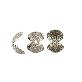 Accessori Vari 50Clips Coprinodo for Cord Small Model silver