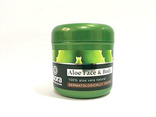 Aloe vera Gesicht und Körpercreme, Feuchtigkeits-Creme für Männer und Frauen 300ml