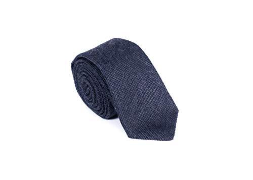 Brunello Cucinelli -  Cravatta - Uomo Blu Blue Taglia unica