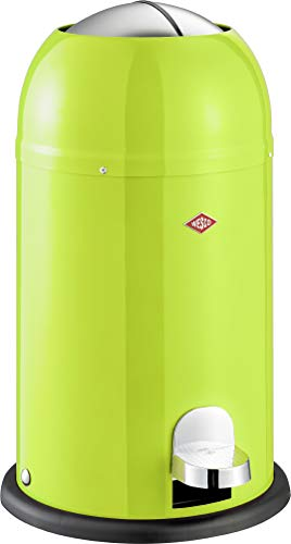 Wesco 180 312-20 Kickmaster Junior Abfallsammler, lime green
