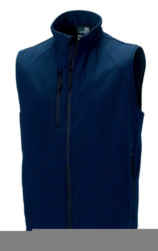 Z141 Herren Soft Shell-Weste French Navy