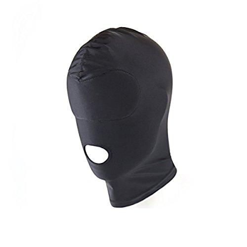 elzeug für Paare Halloween Masquerade Masken Kostüme Spandex Schwarz ()