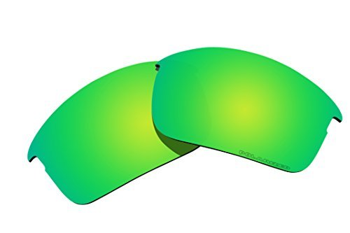 Polarized Replacement Lenses for Oakley Bottle Rocket Sunglasses - 5 Options Available (Emerald Green Mirror Coatings) by BVANQ