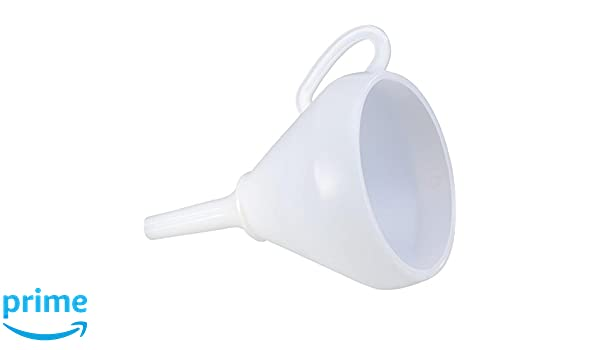 Hunersdorff 953100 Funnel with Sieve 253 mm White