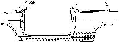 VAN WEZEL 5812101 Einstiegblech