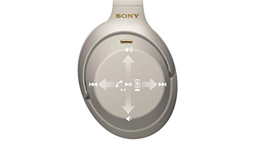 Sony WH-1000XM3 Bluetooth Noise Cancelling Kopfhörer (30h Akkulaufzeit, Touch Sensor, Headphones Connect App, Schnellladefunktion) silber - 7