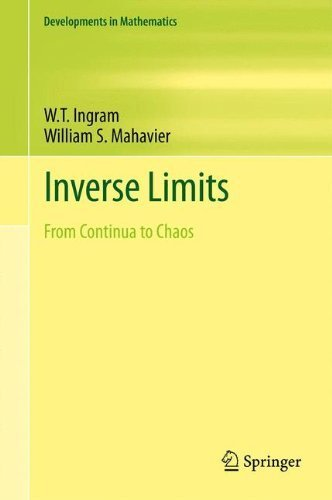Inverse Limits: From Continua to Chaos (Developments in Mathematics) by Ingram, W.T., Mahavier, William S. (2011) Hardcover