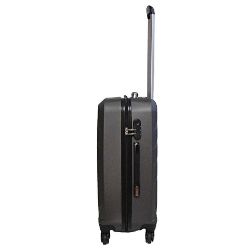 Travelite QUICK 4-Rad Trolley S 72847-04 Koffer, 55 cm, 37 L, Anthrazit -