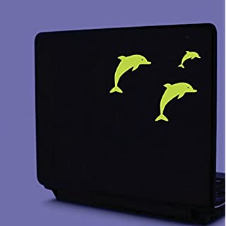 ABCUV Dolphin Family Glow Self-Adhesive Sticker - 3 pieces
