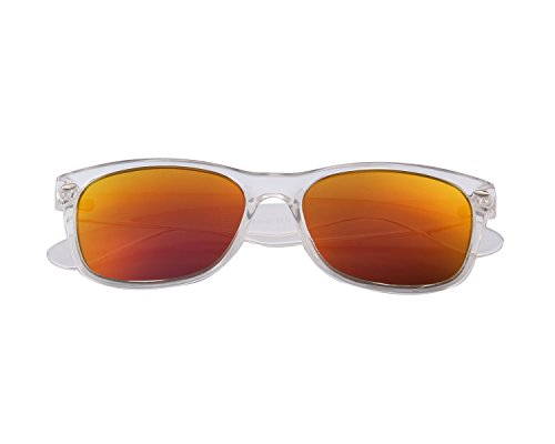 a752243a9f MERRY S Retro Rewind Classic Polarized Sunglasses S683 (Frost Red) - Buy  Online in Oman.